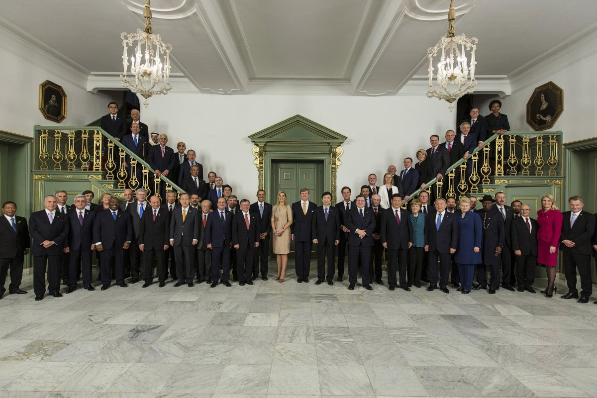 Image: World Leaders Gather For Nuclear Security Summit 2014