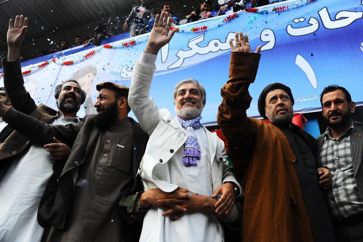 Image: AFGHANISTAN-VOTE-ABDULLAH