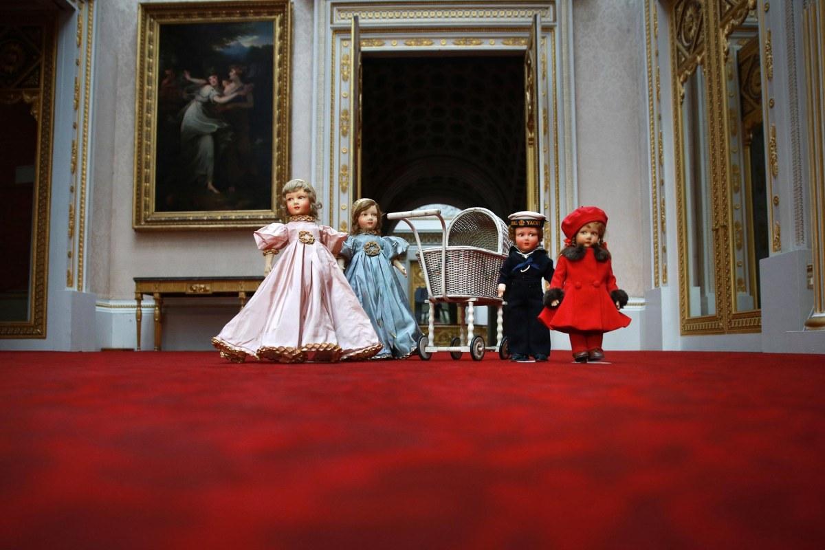 Image: Queen Elizabeth II Childhood Toys Go On Display