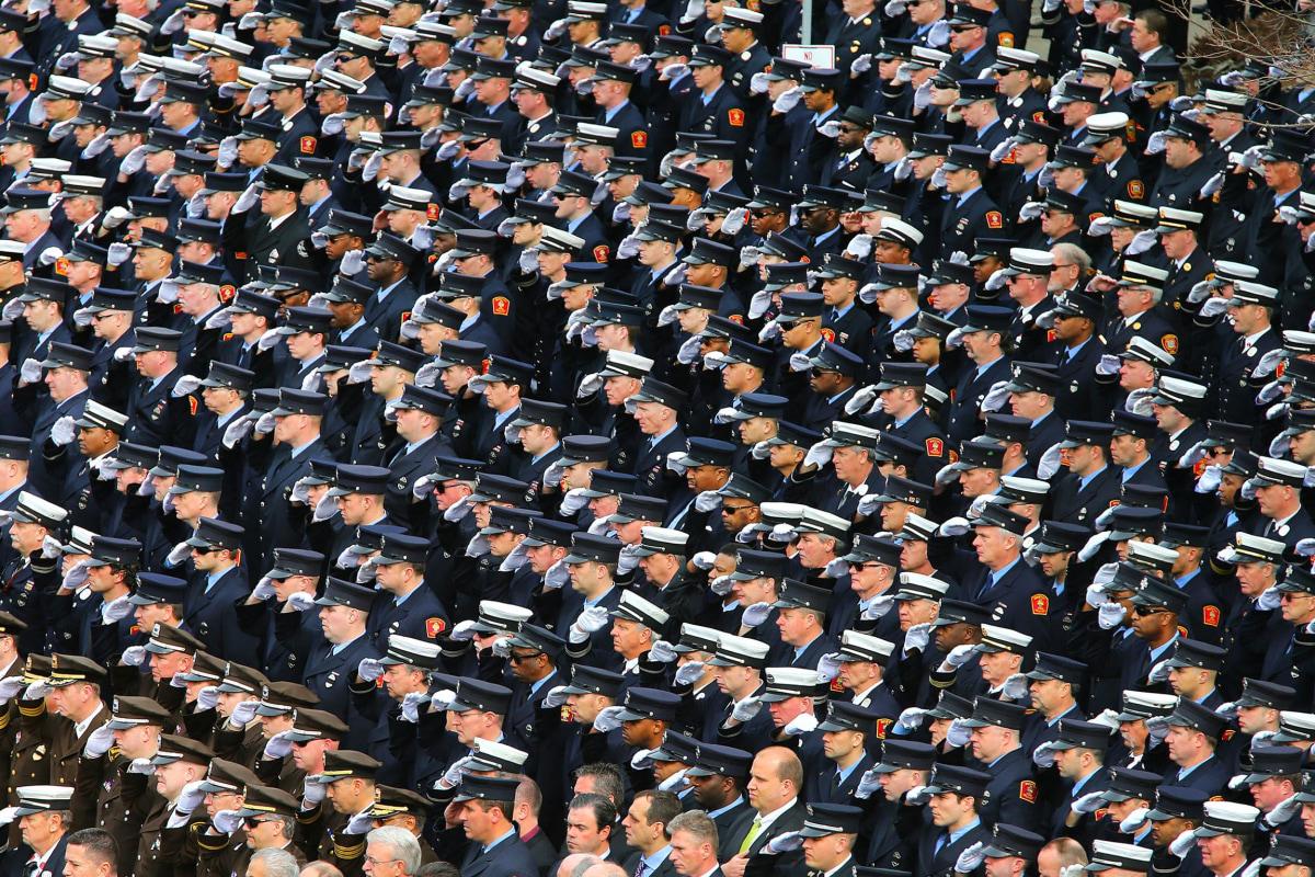 Funeral For Boston Fire Lt. Edward Walsh Jr.