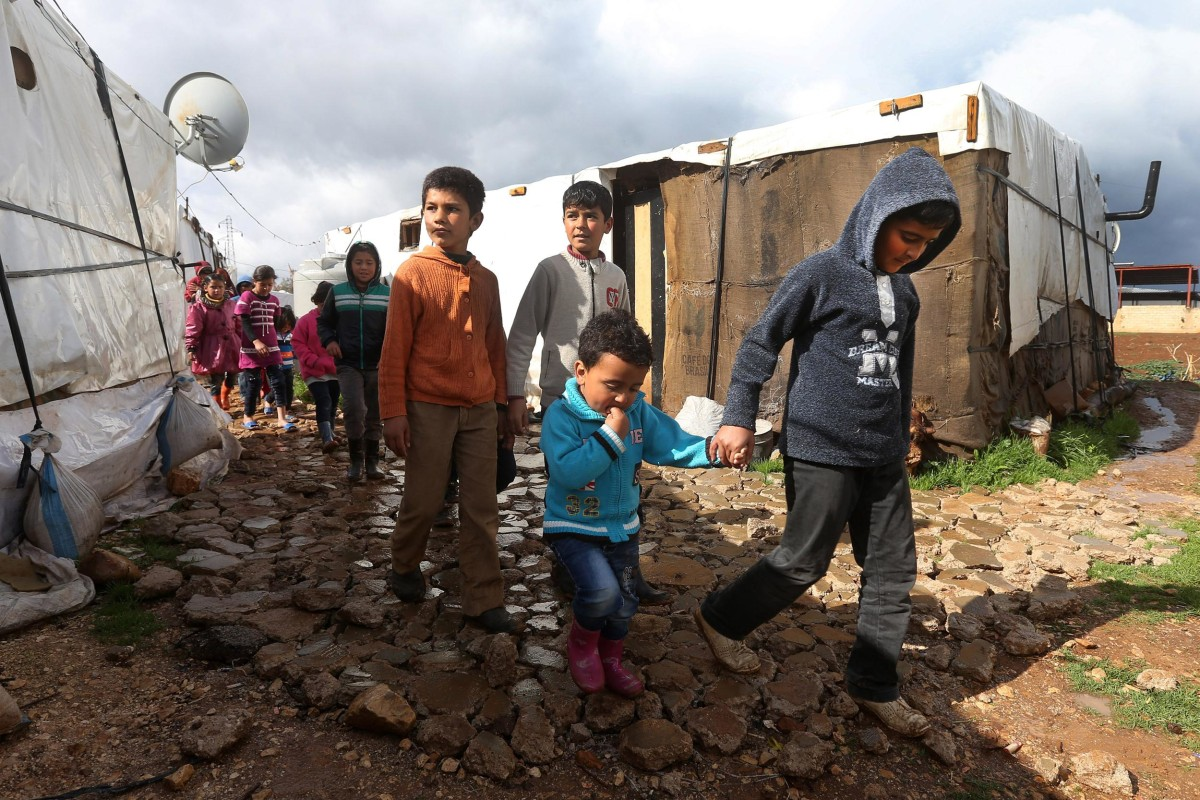 Syrian Refugees Fleeing to Lebanon Eclipse 'Bleak ...