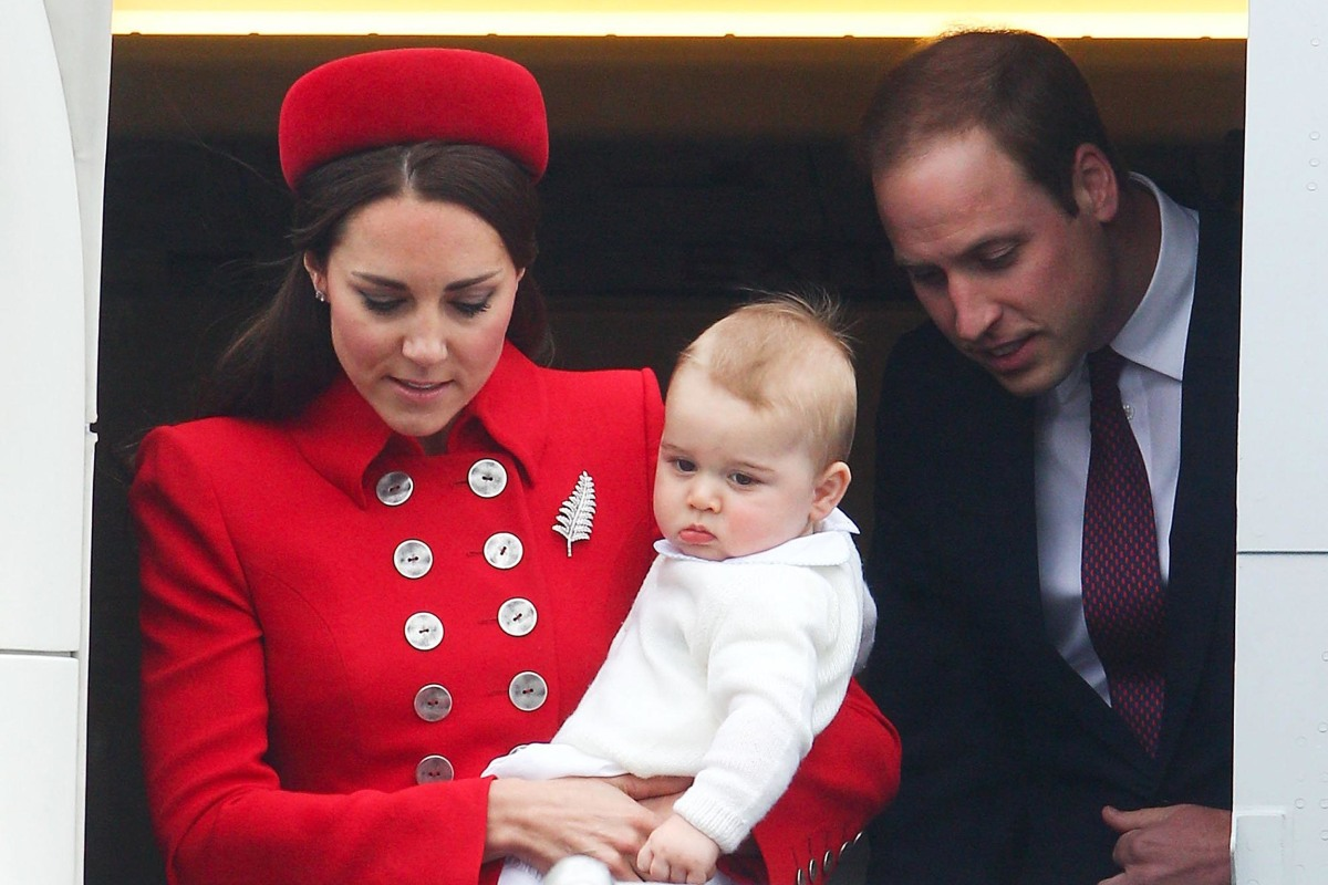 Image: The Duke And Duchess Of Cambridge Tour Australia And New Zealand - Day 1