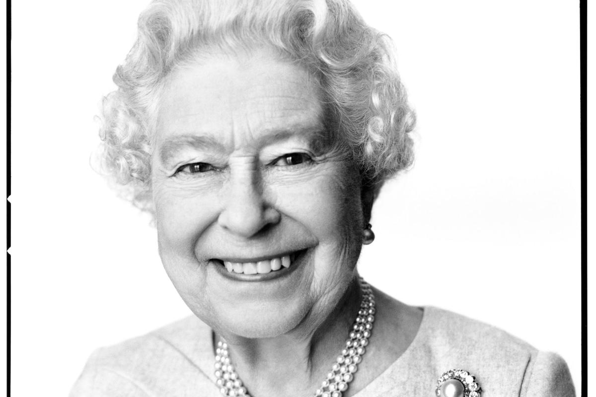 Birthday portrait of Queen Elizabeth II