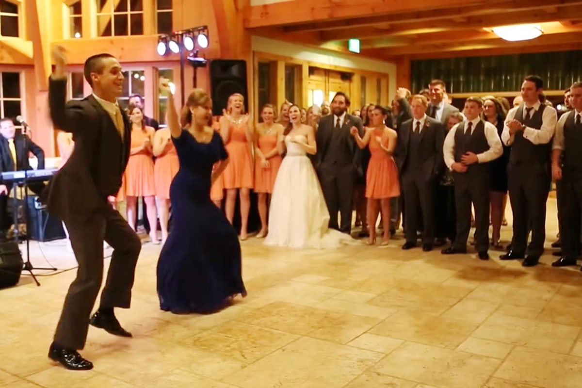 Shake It! Mother-Son Wedding Dance Goes Viral