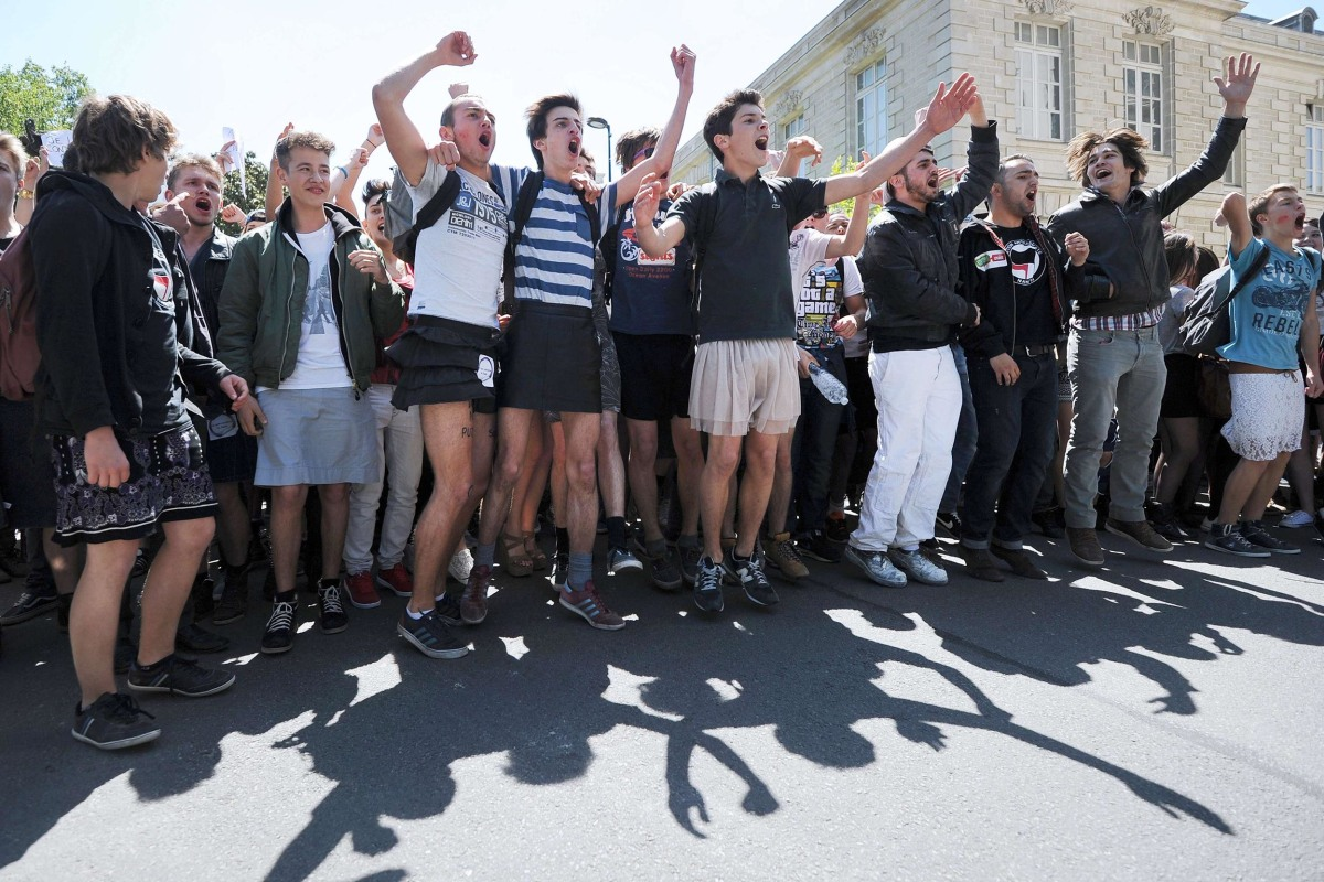 Image: FRANCE-EDUCATION-WOMEN-GAY-RIGHTS