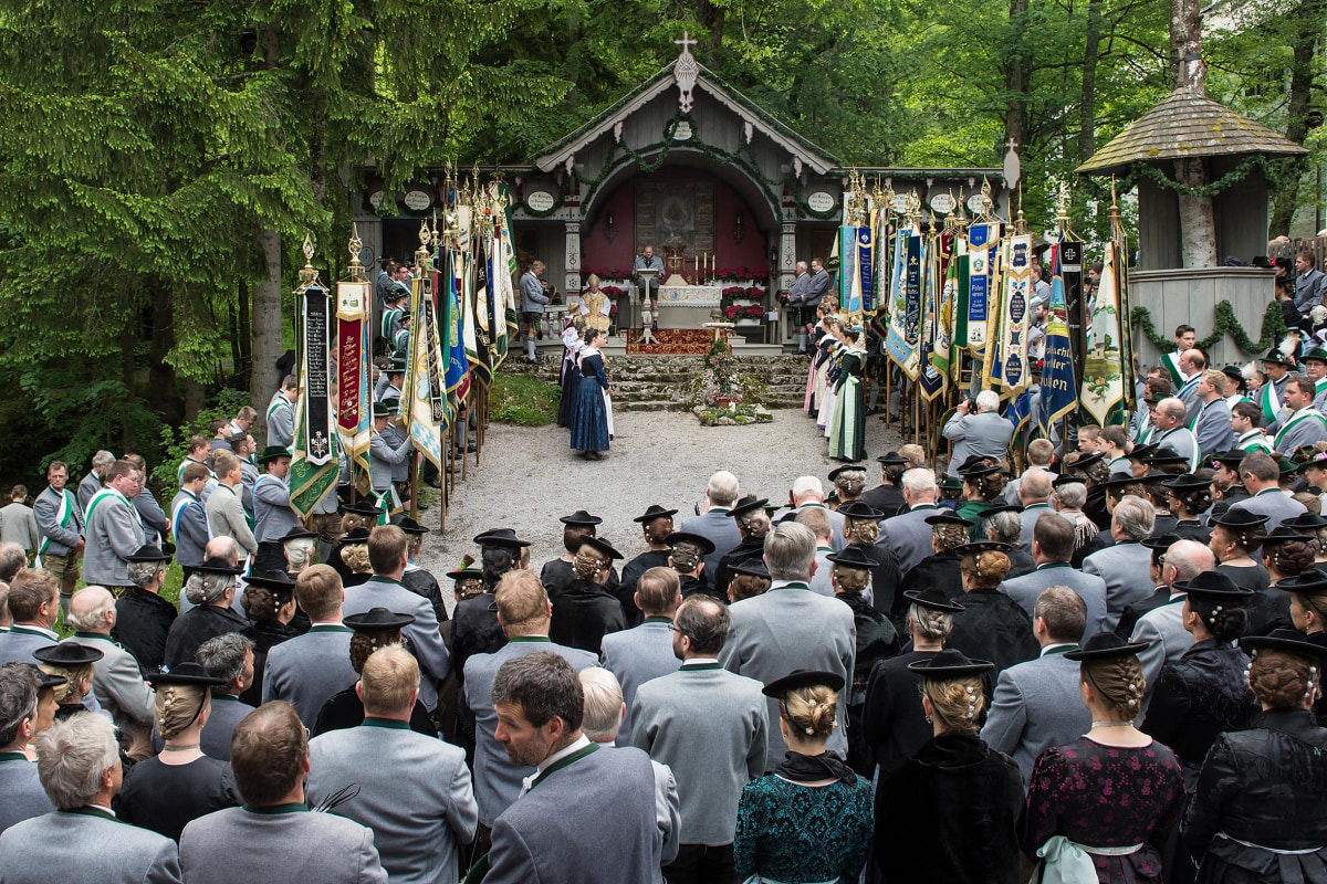Image: Pilgrims Celebrate Ascension In Bavaria