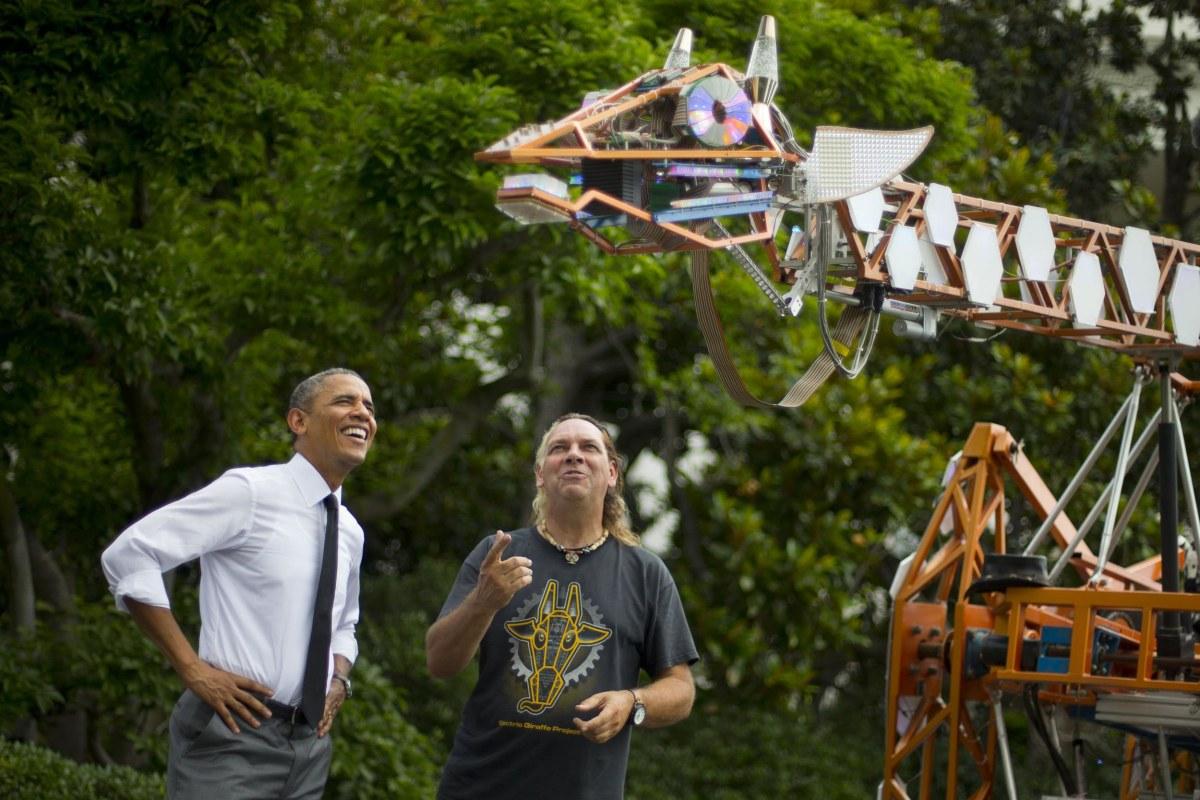Science Stars Shine At White House Maker Faire Nbc News