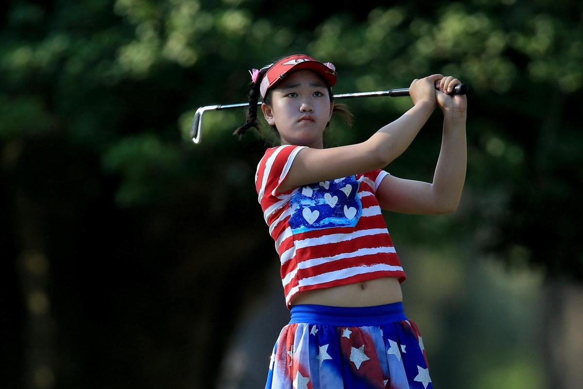 Annika Sorenstam's Advice to Golfing Prodigy Lucy Li - NBC ...