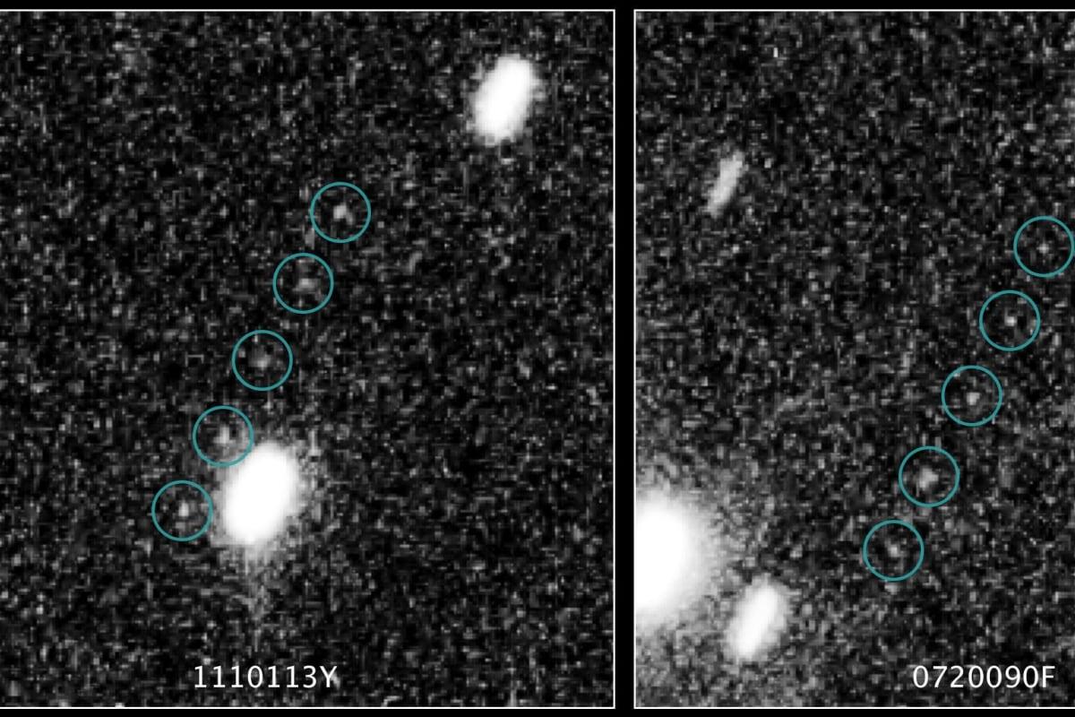 Image: Kuiper Belt objects
