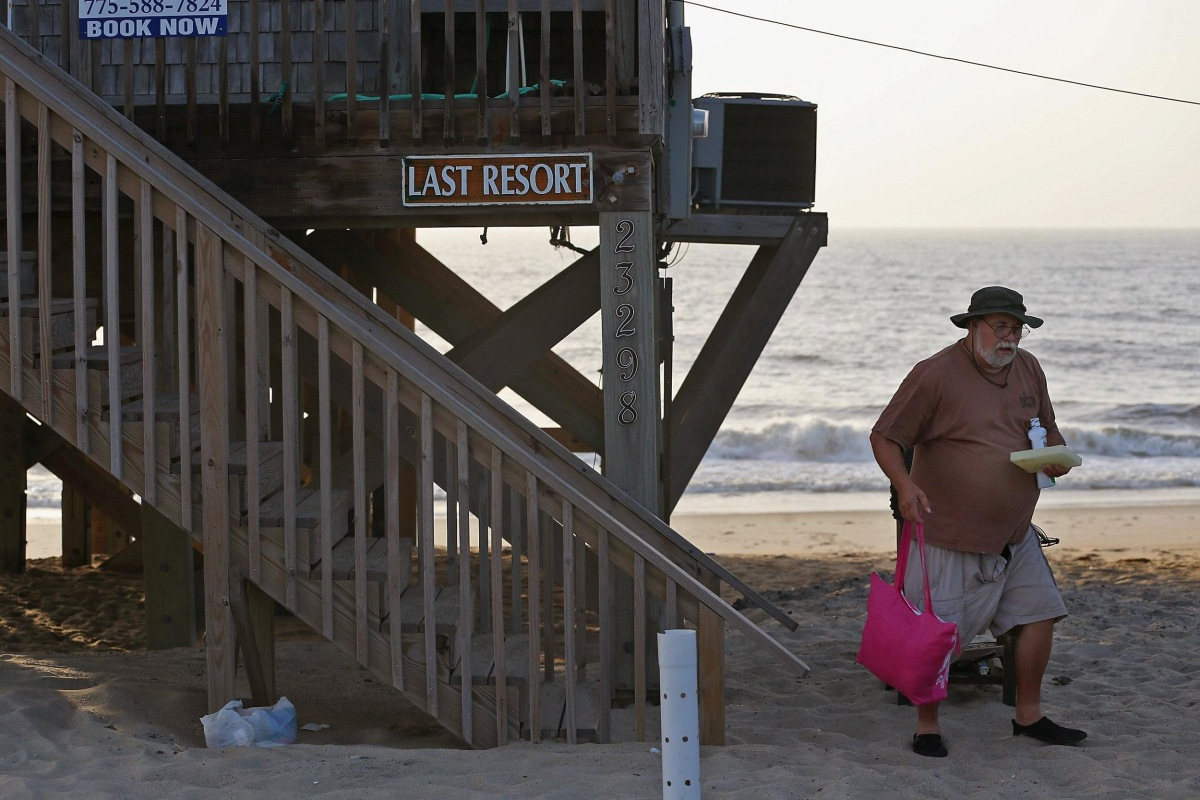 Image: Tropical Storm Arthur Threatens North Carolina's Outer Banks