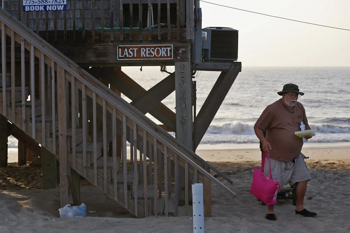 Image: Tropical Storm Arthur Threatens North Carolina's Outer Banks