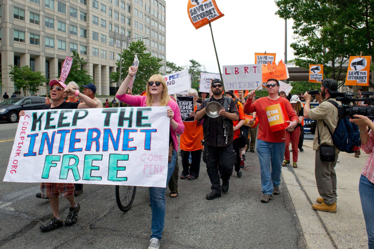 Internet giants unite for 'Day of Protest' in net neutrality battle