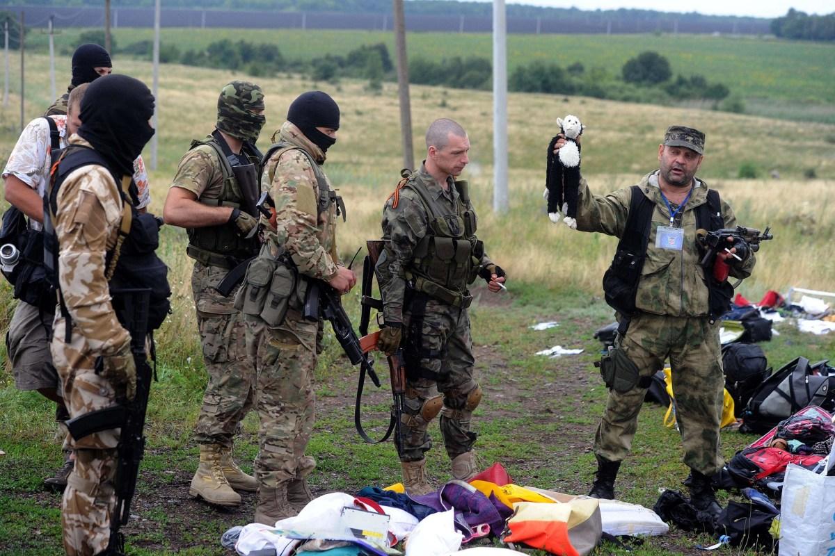 Image: UKRAINE-RUSSIA-POLITICAL-CRISIS-MALAYSIA-OSCE-CRASH