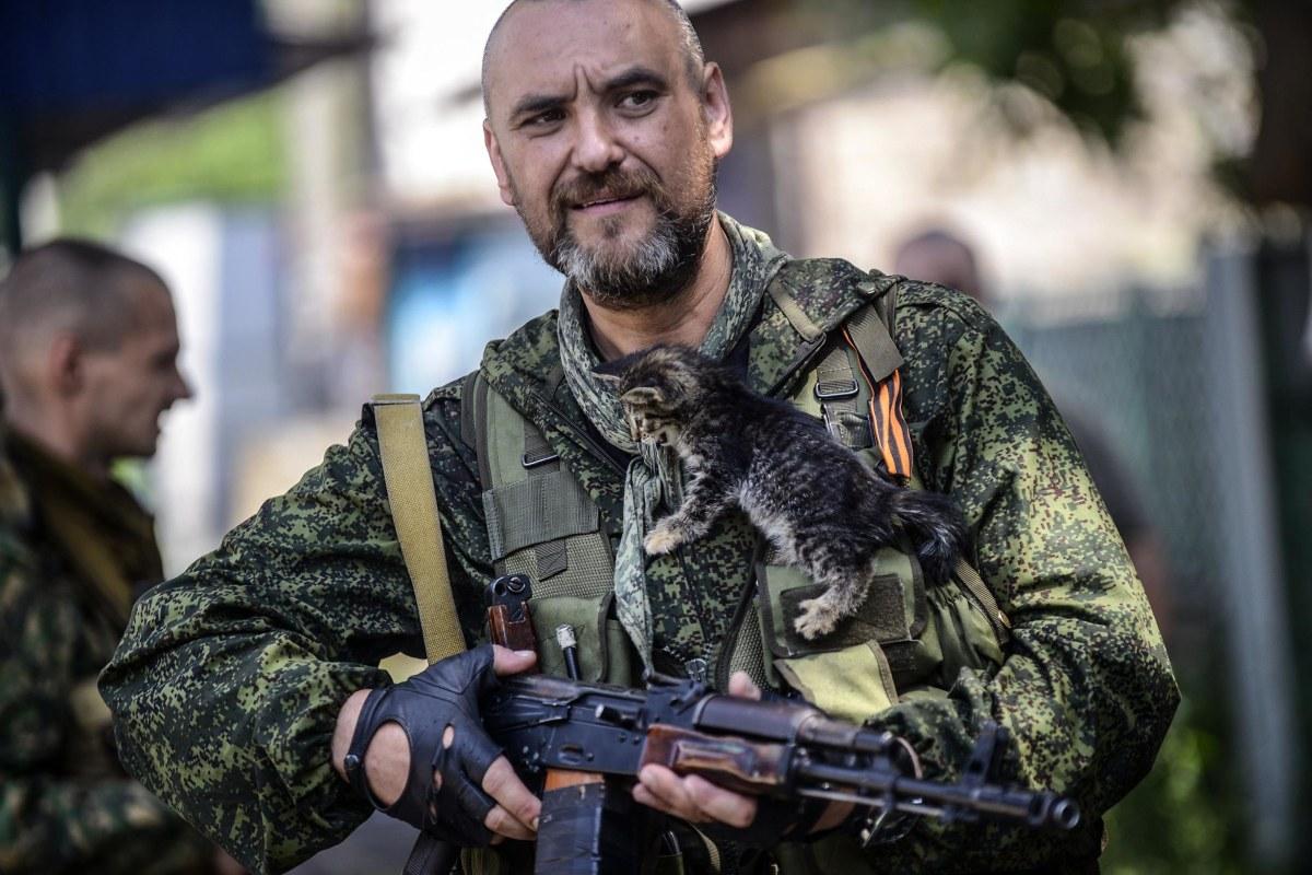 Image: TOPSHOTS-UKRAINE-RUSSIA-POLITICS-CRISIS-DONETSK