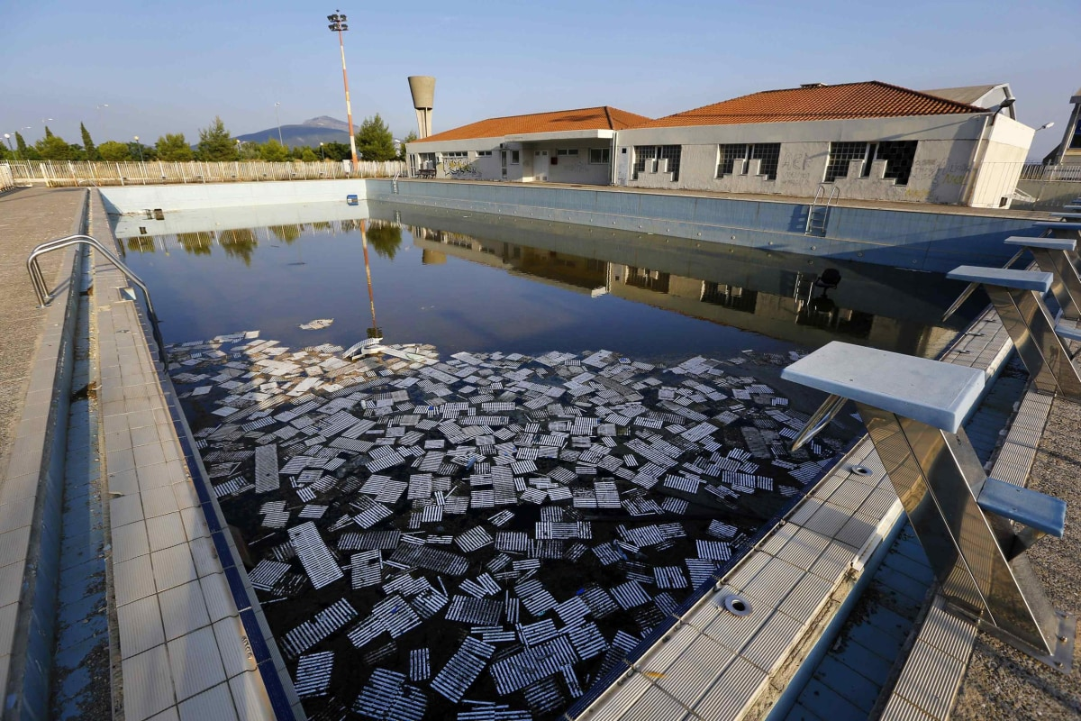 Ghostly Ruins Athens Olympic Venues Ten Years Later Nbc
