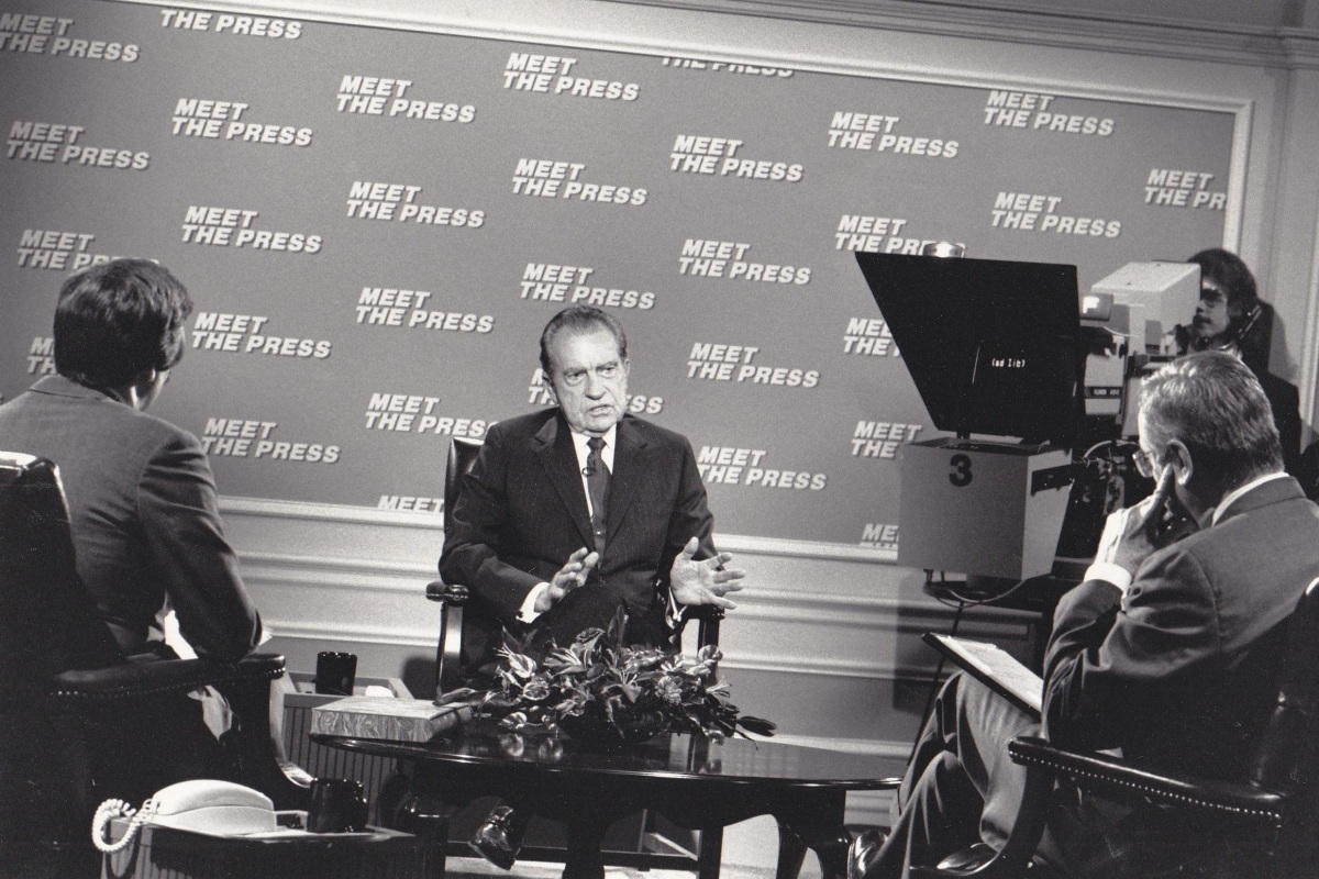 nixon meet the press