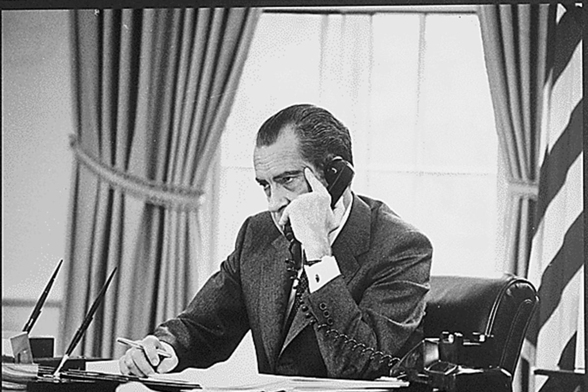 Forty Years After Watergate, Nixon's Unlikely Staying ...