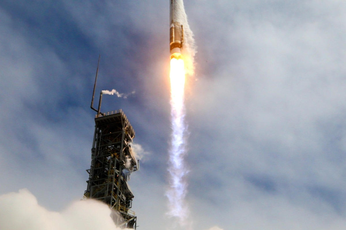 Image: WorldView-3 launch