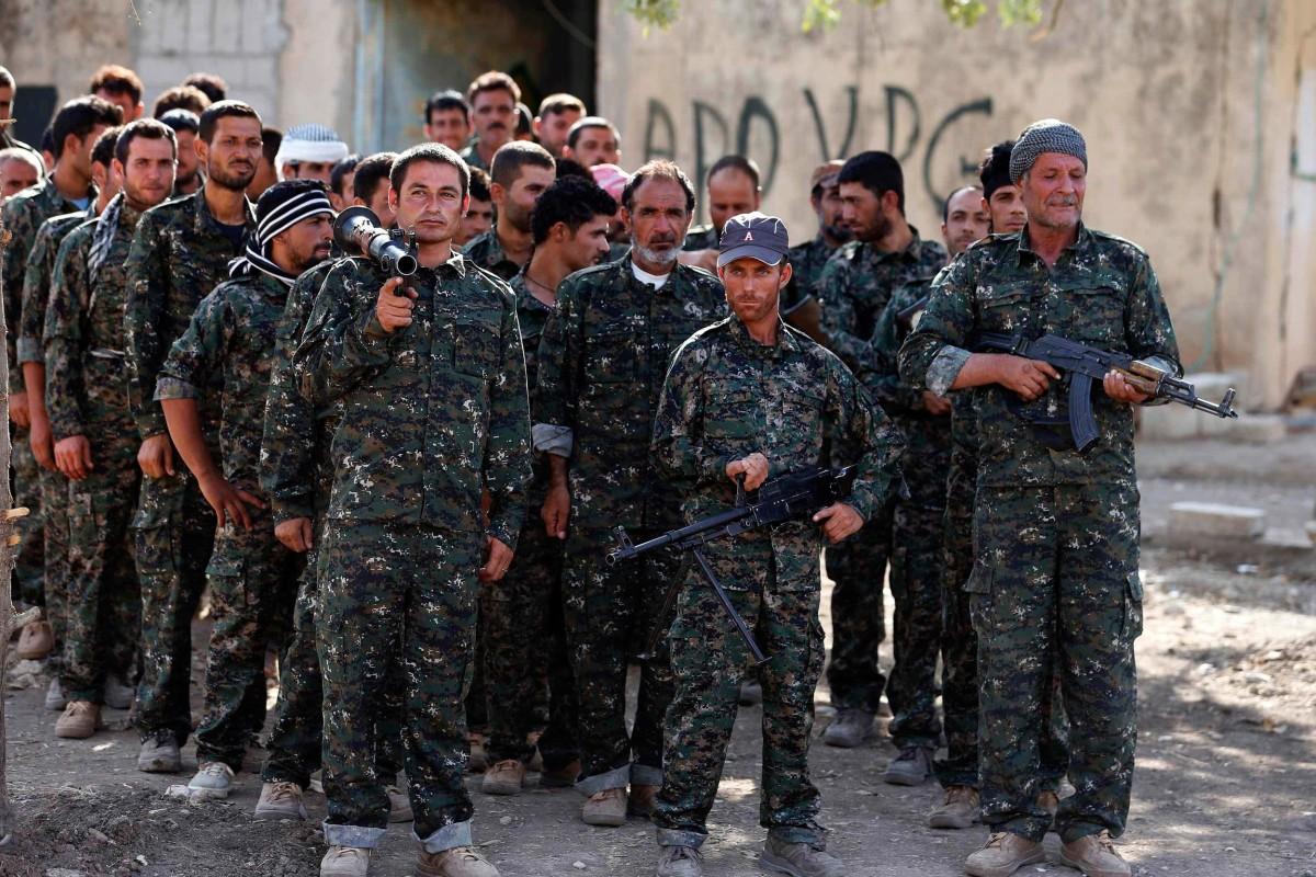 Yazidi volunteers prepare to fight back against isis militants nbc