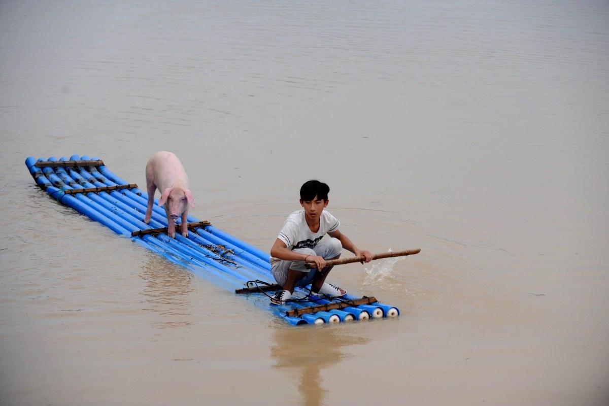 Image: CHINA-FLOOD