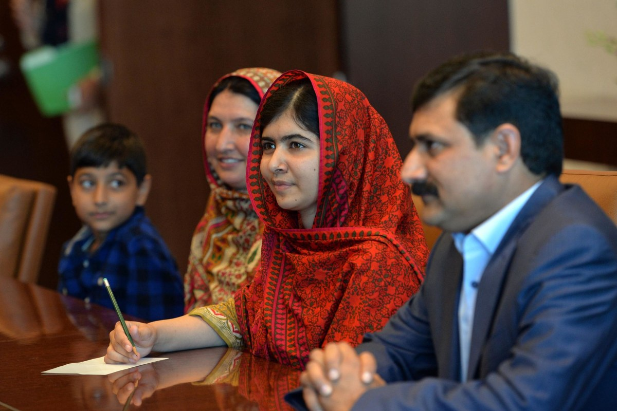 Malala Yousafzai's Mother Learns to Read and Write - NBC News