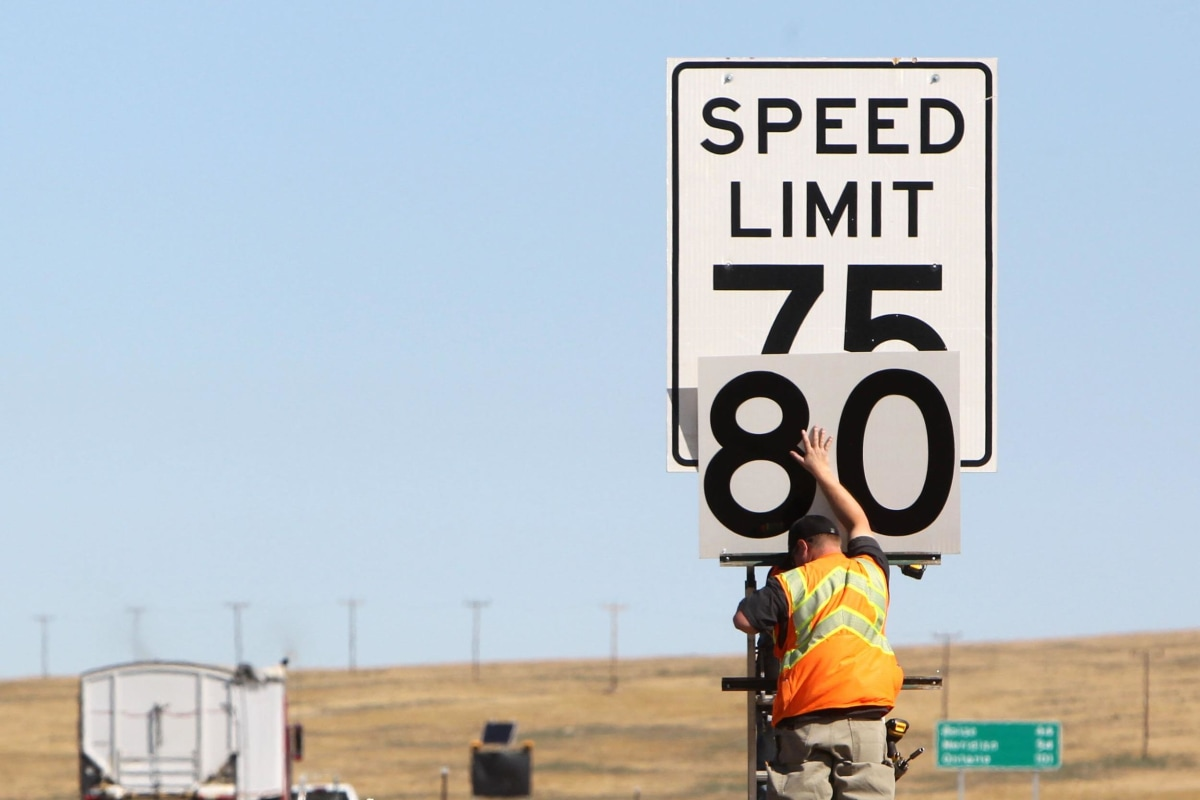 Which States Have The Highest Speed Limits NBC News - Us highway map with speed limits