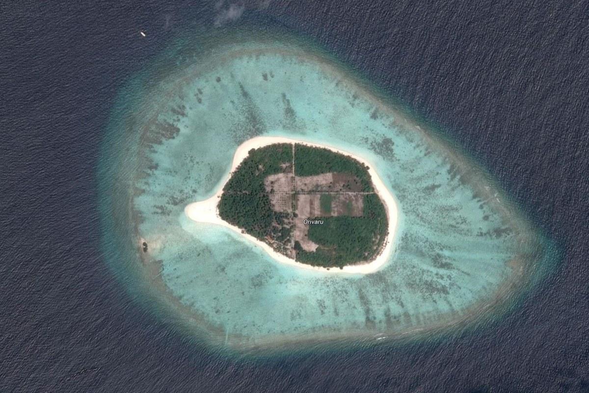 Image: The island of Orivaru, in the Maldives, for sale for $14 million