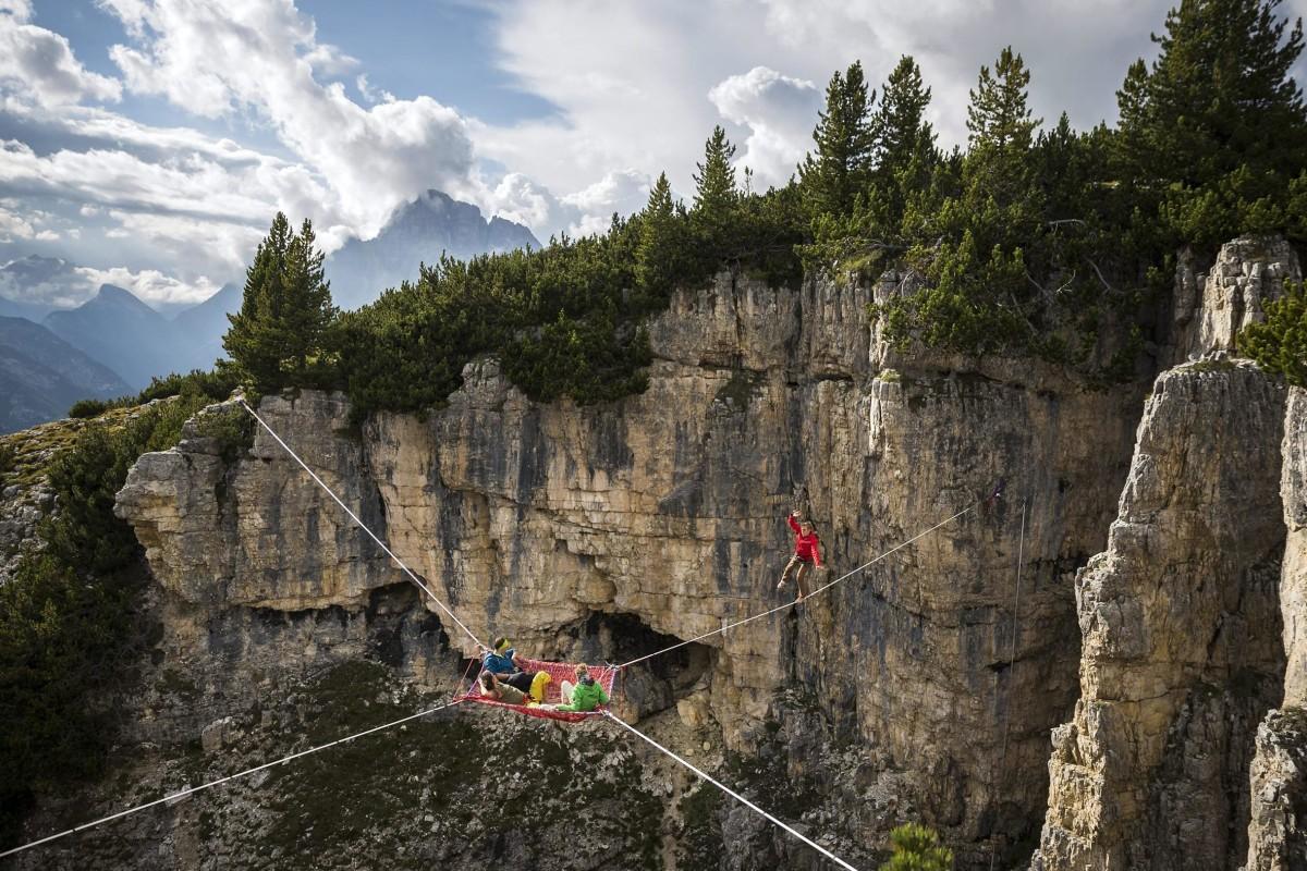 Image: International Highline Meeting in Monte Piana