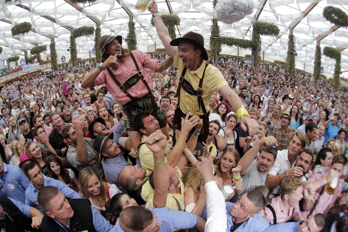 beer lovers rejoice oktoberfest kicks off in munich nbc news. Black Bedroom Furniture Sets. Home Design Ideas