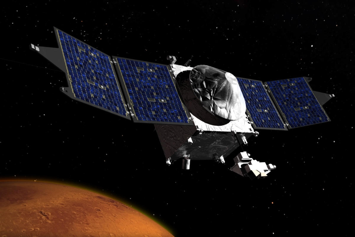 Success! NASA's Maven Probe Goes Into Orbit Around Mars ...