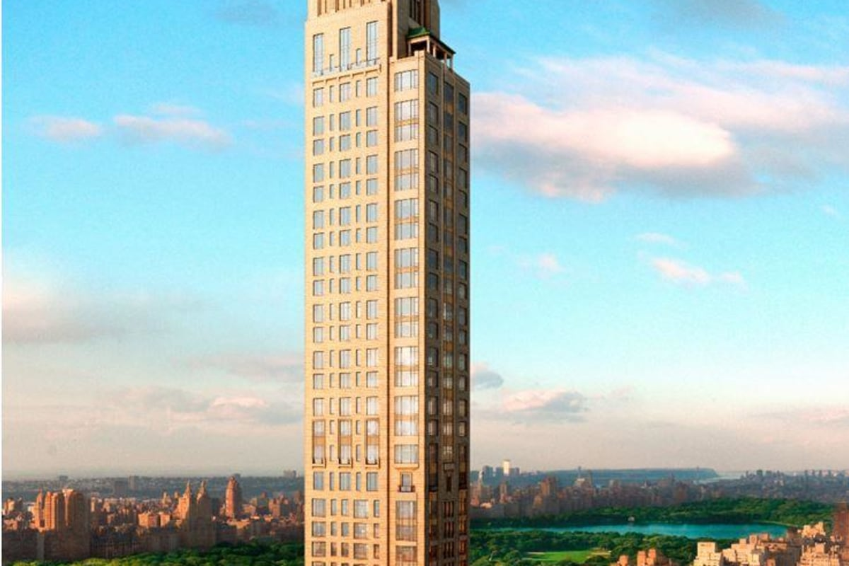 New York City's real estate listings just keep climbing. A triplex in this building? $130 million