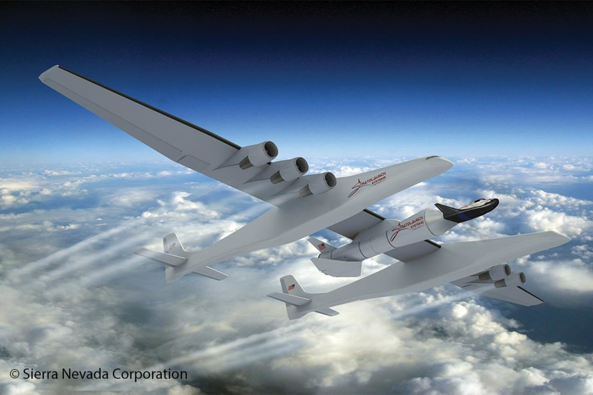 Image: Dream Chaser and Stratolaunch