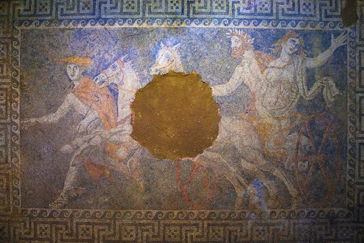 Image: Persephone mosaic