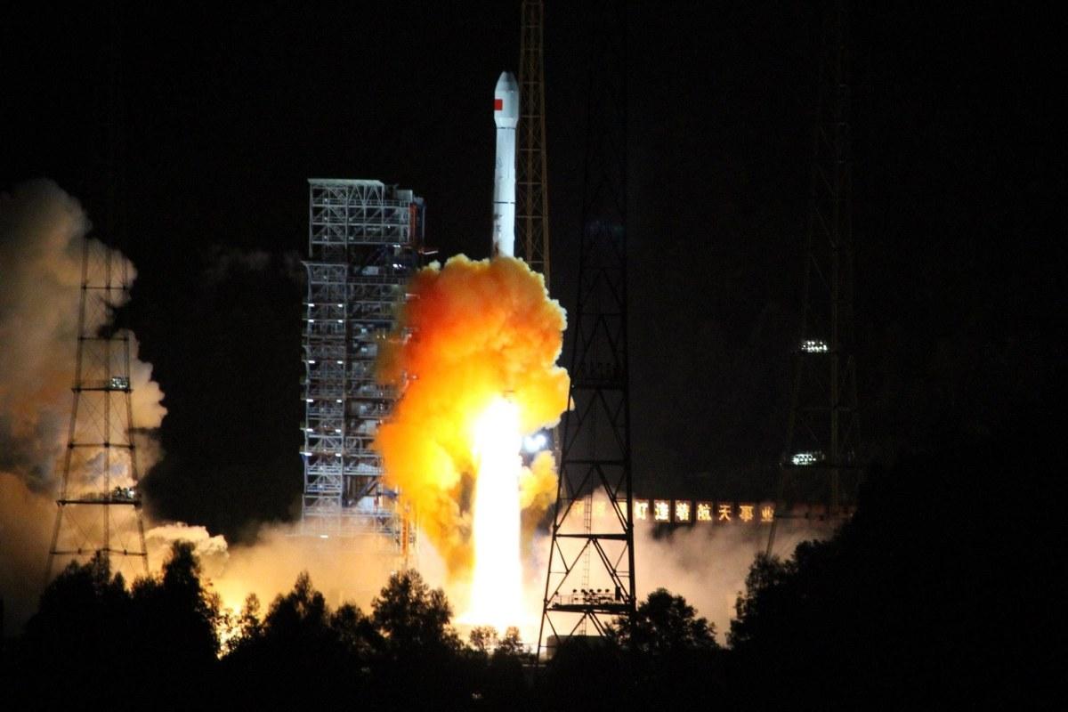 Image: Moon probe launch