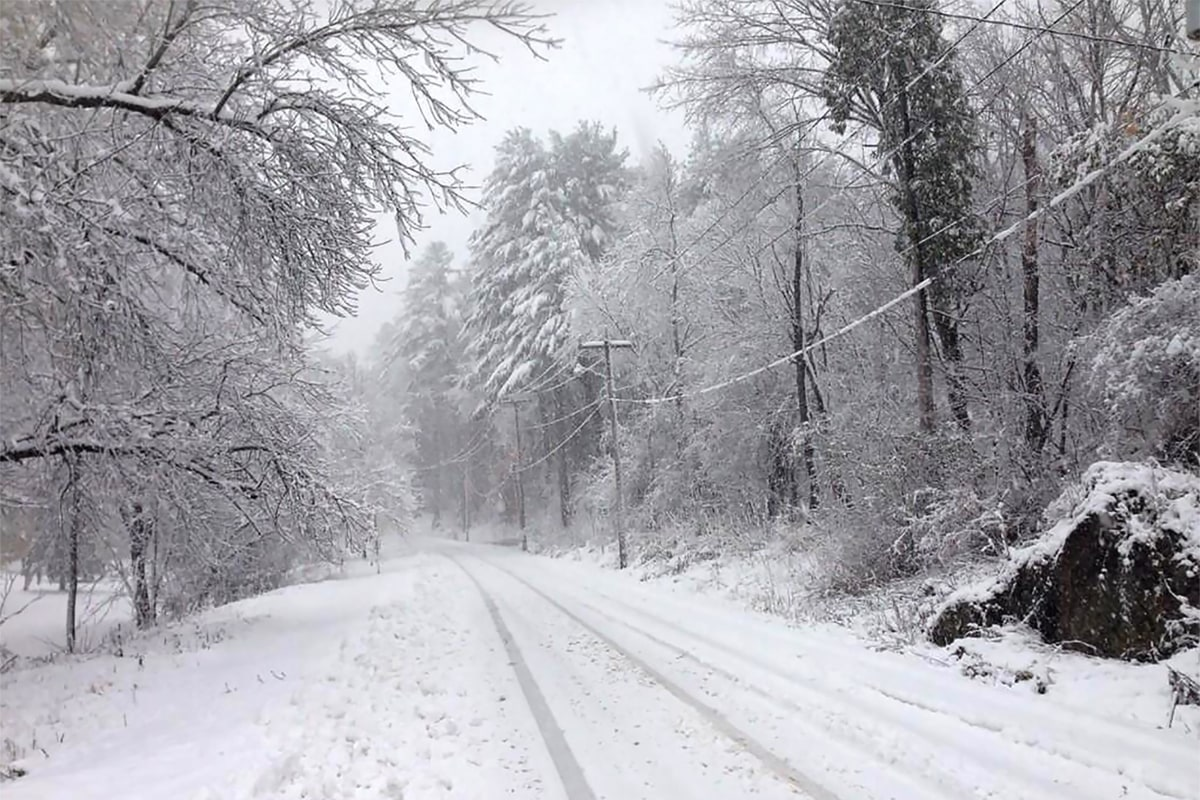 Maine Snowstorm Leaves Thousands Without Power, Dumps Two ...