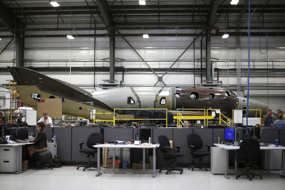 The Next SpaceShipTwo Takes Shape in Virgin Galactic ...