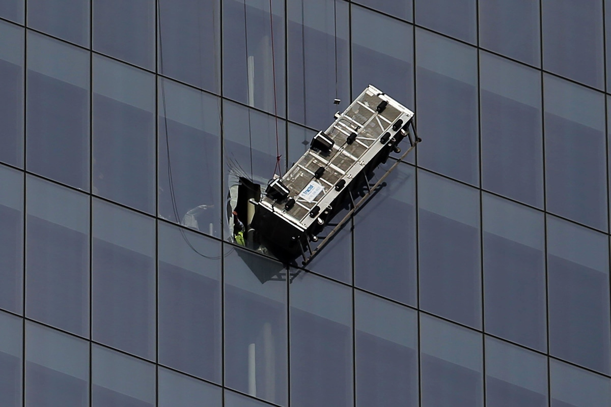 Window Washers Defy Death But Can Start Off Making Just