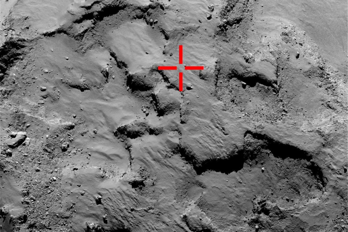 stable on philae comet lander - photo #1
