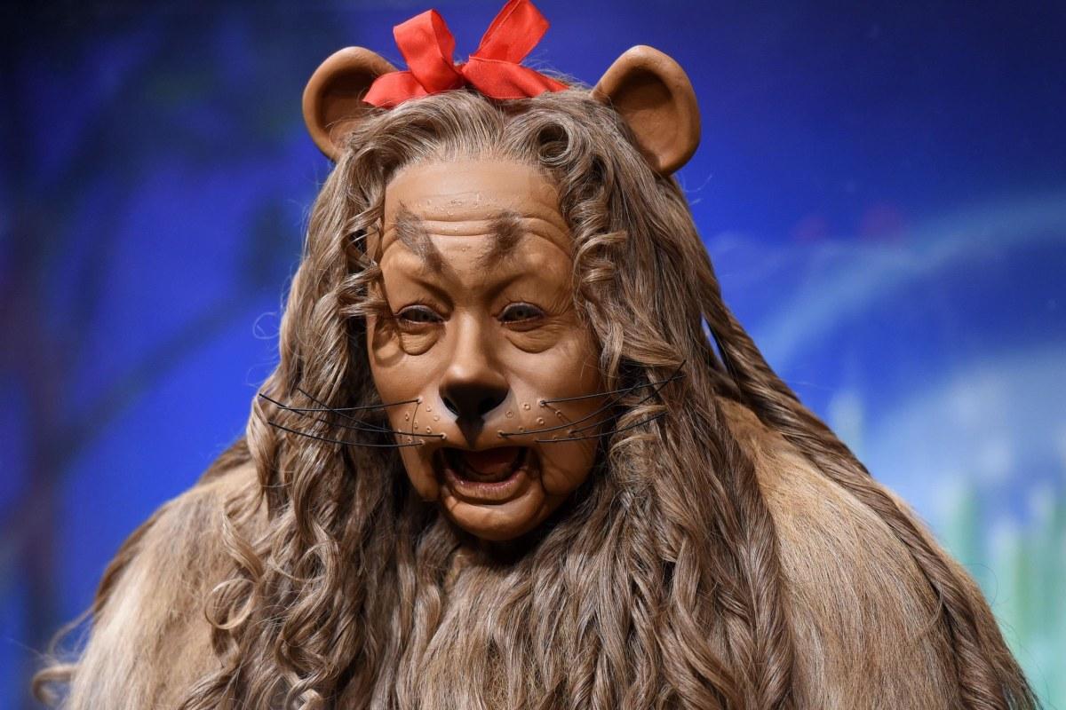 Image: US-BONHAMS-COWARDLY LION