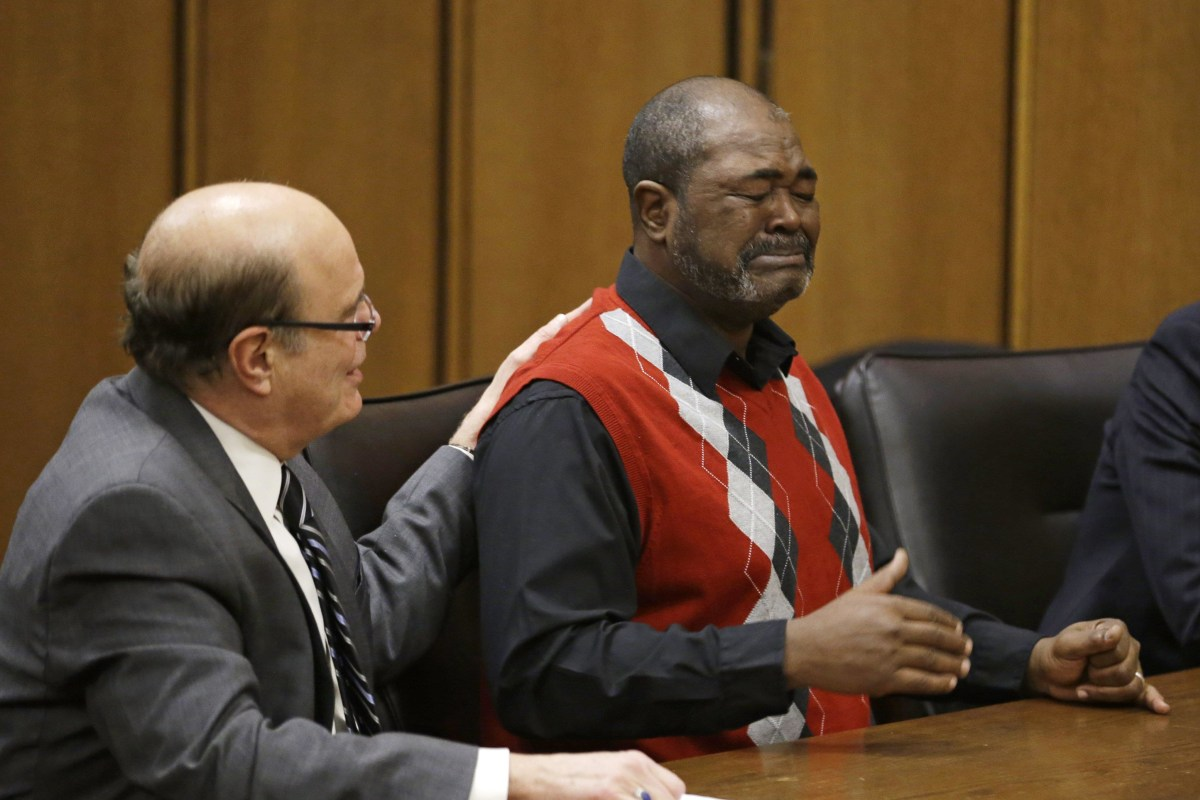 Man falsely accused of murder freed after 13 years behind bars