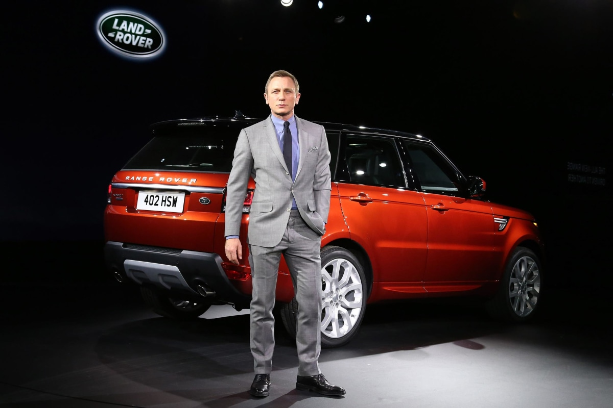 Used Land Rovers >> Range Rovers Customized for James Bond's 'Spectre' Stolen ...
