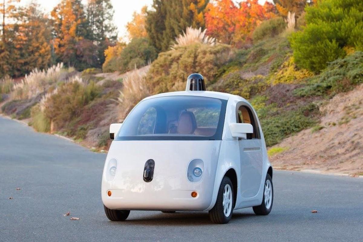 Image: Google self-driving car