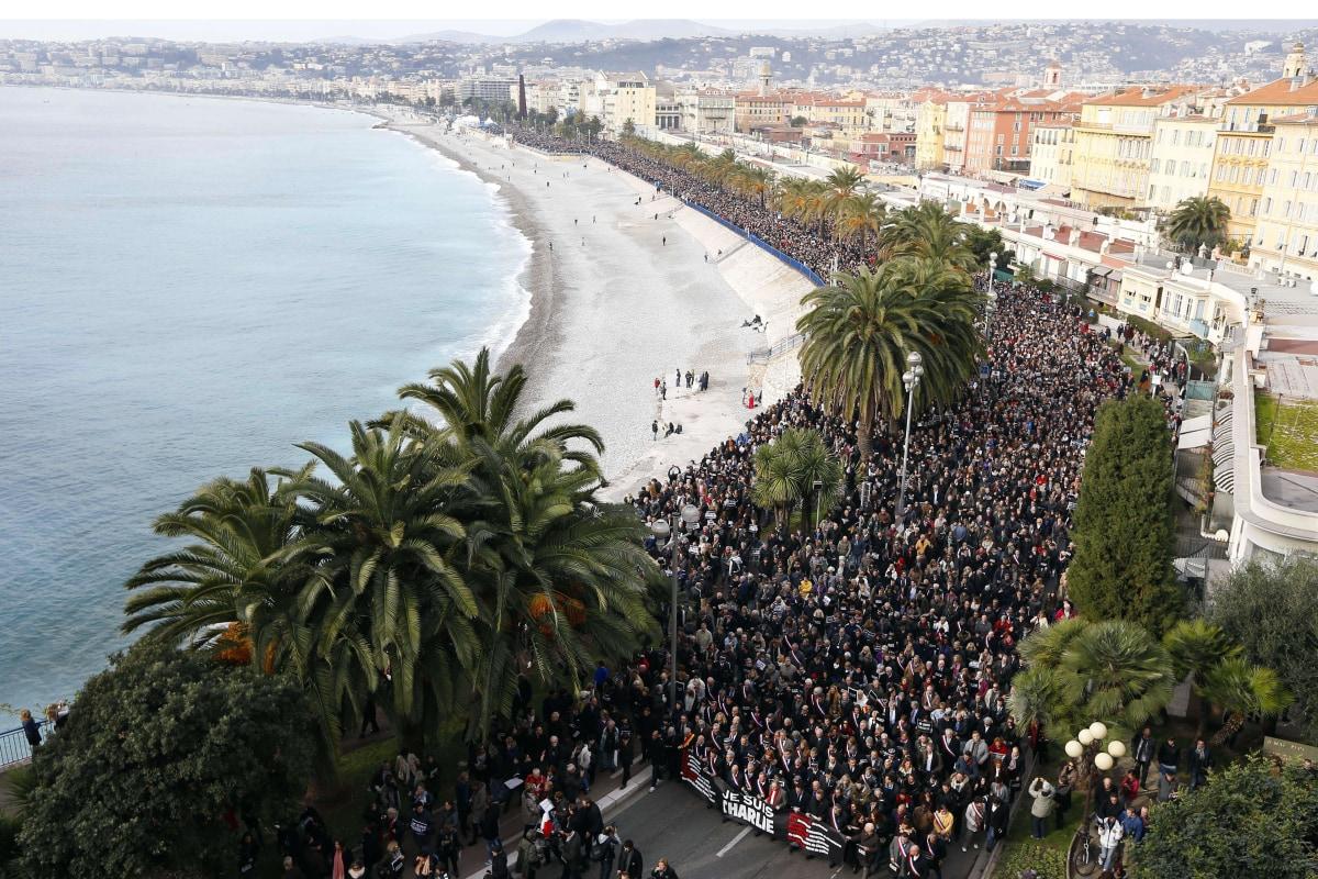 Image: Charlie Hebdo march