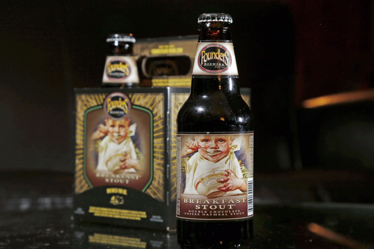 Breakfast Stout Crafted By Founders Brewery Co