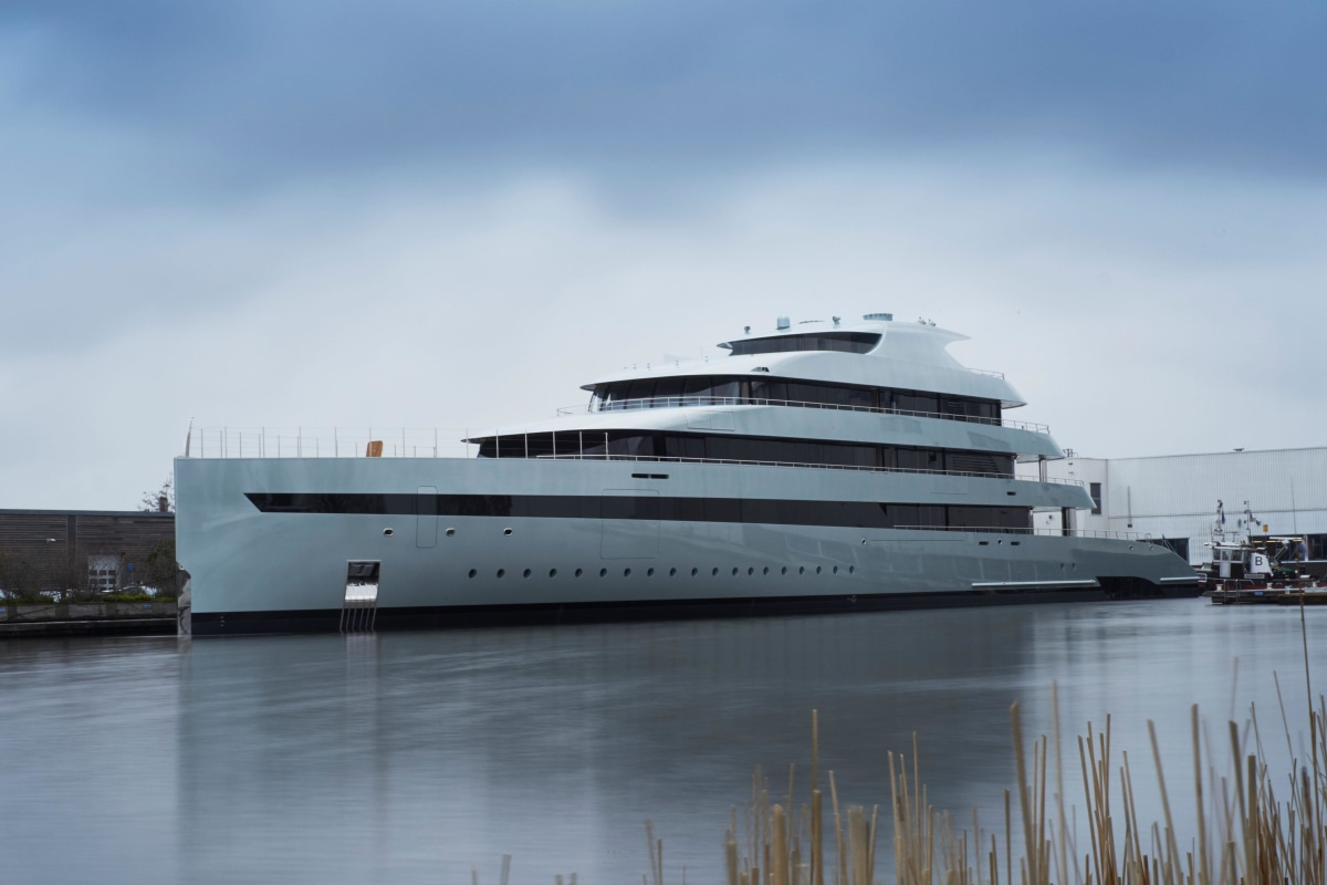"""Feadship, the prestigious Netherlands-based yacht builder, has just launched """"Savannah,"""" the world's first true hybrid megayacht."""