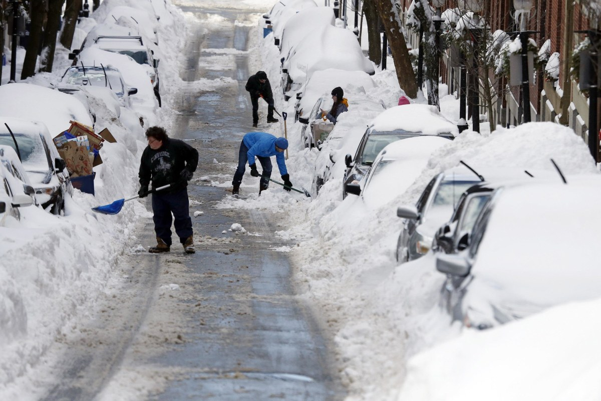 blizzard 2015 new england digs out after monster snow and