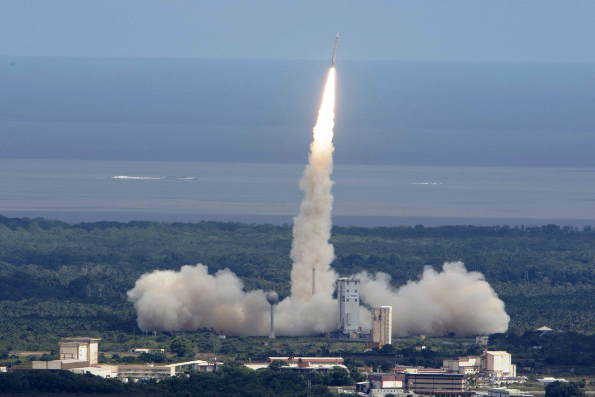 Image: IXV launch