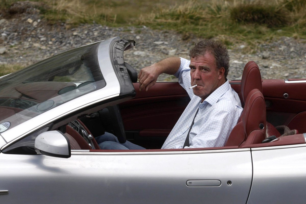 Jeremy Clarkson Original Top Gear 'top Gear' Host Jeremy
