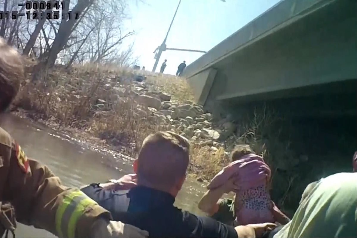 Body Camera Video Shows Rescue of Utah 'Miracle Baby' Lily ...