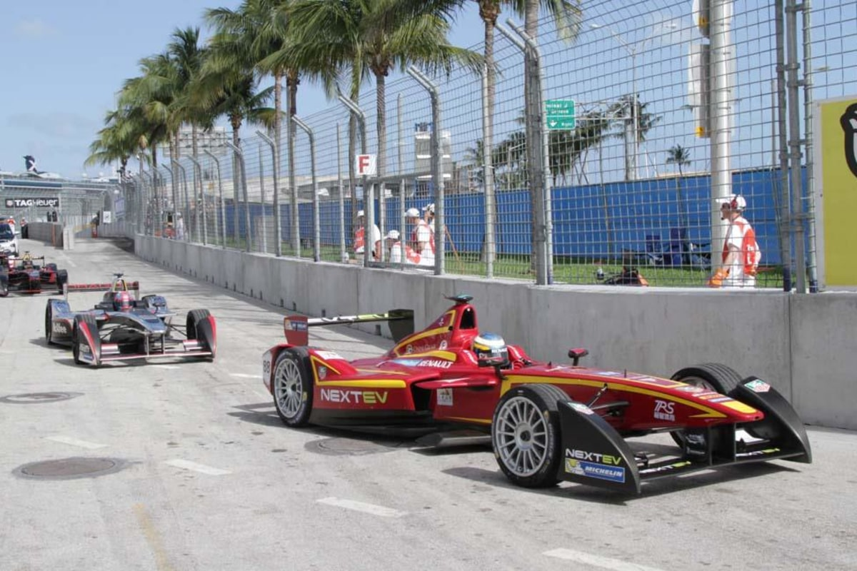 Formula E Racers Set Out To Change The World Quietly